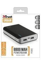 Trust Urban Primo PowerBank 8800mAh Portable Charger Czarny