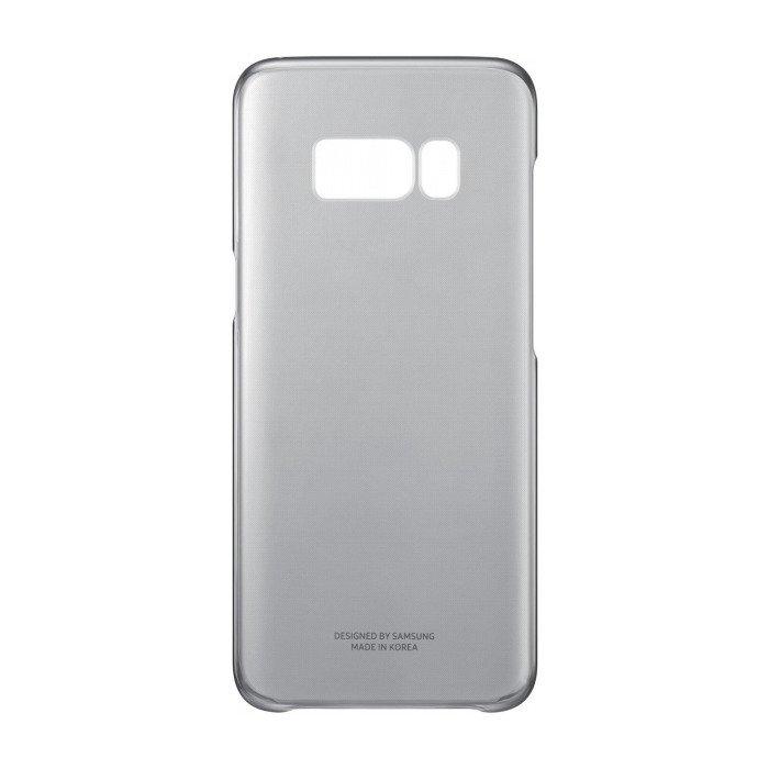 Etui Clear Cover do Galaxy S8 Czarne (EF-QG950CBEGWW)