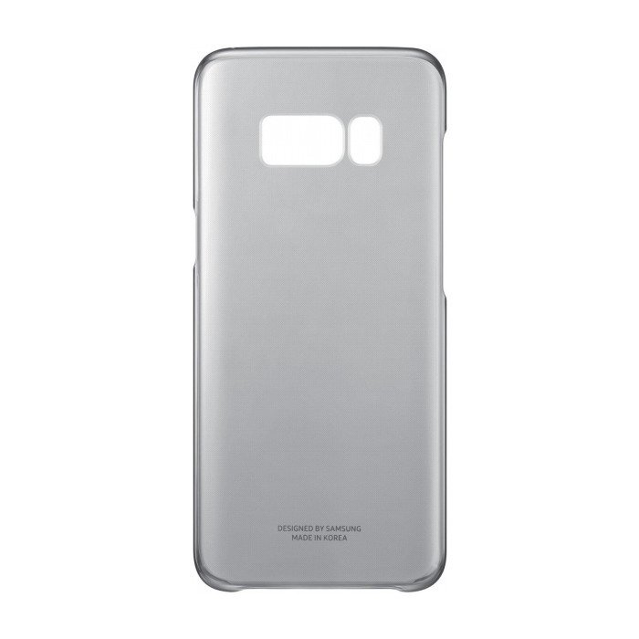Etui Clear Cover do Galaxy S8+ Czarne (EF-QG955CBEGWW)