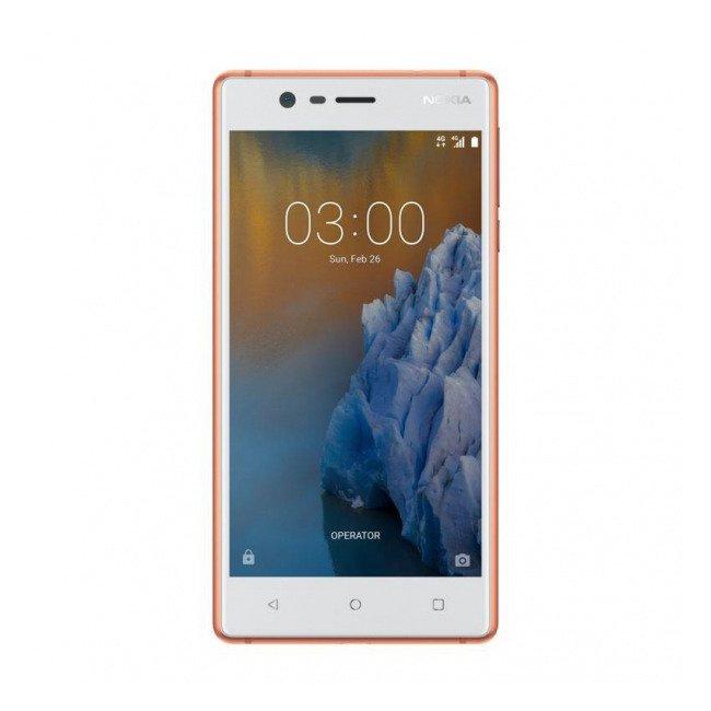 NOKIA 3 Dual SIM Biało-Miedziana 16GB LTE