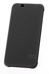 Etui Dot View HTC HC M140 LITE Szare do HTC Desire 620 Dual Sim